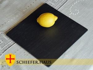 Basic Quadratische Schiefer Teller.