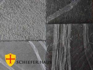 Besonders gut für Fußbodenheizung geeignet. Schiefer arbeitsplatte.