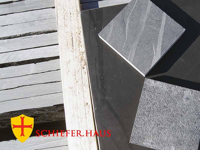 Schiefer Steine Innen Und Außen Die Schieferplatten Und Fliesen - Fliesen außenbereich anthrazit