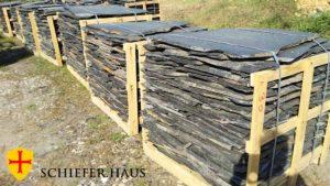 Der Stein für Pfade wird vor allem zur Verlegung von Pfaden im Garten gebraucht. Schiefer Gehwegplatten.