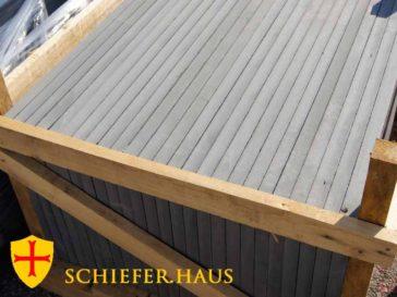 Schiefer Fensterbänke liefern gestalterische Akzente und schützen das Bauwerk.