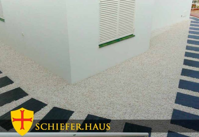 Diese Schieferplatten harmonieren daher besonders mit einem modernen Gestaltungsstil.