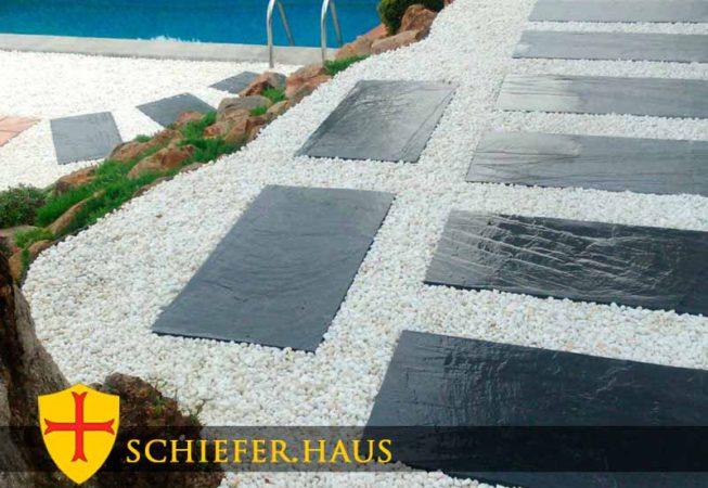 Wonderful Photo für Schieferplatten Terrasse.
